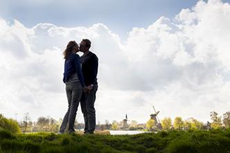 trouwfoto's in omgeving van Hilversum